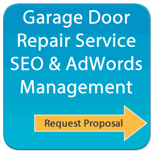 We handle AdWords and SEO for local Garage Door Repair company marketing plans.